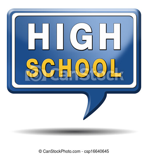 high school choice or search find good education rh canstockphoto com high school clipart high school clipart images