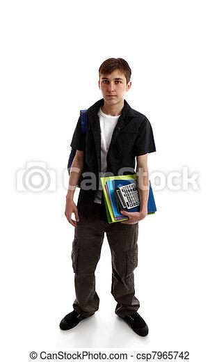 High school student - csp7965742