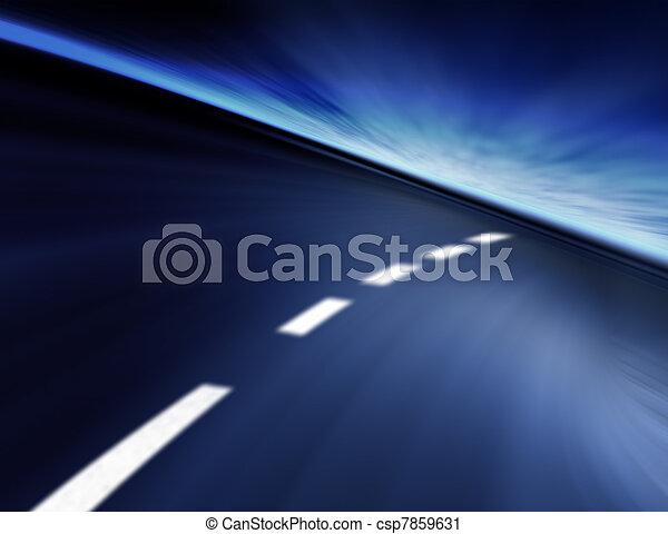 high-speed bachground - csp7859631