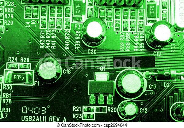 high tech computer equipment - csp2694044