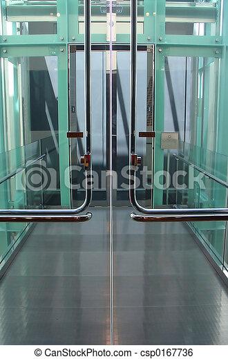 High Tech Doorway - csp0167736