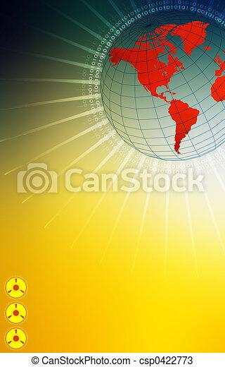 High tech world - csp0422773