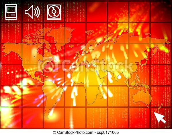 High tech world - csp0171065