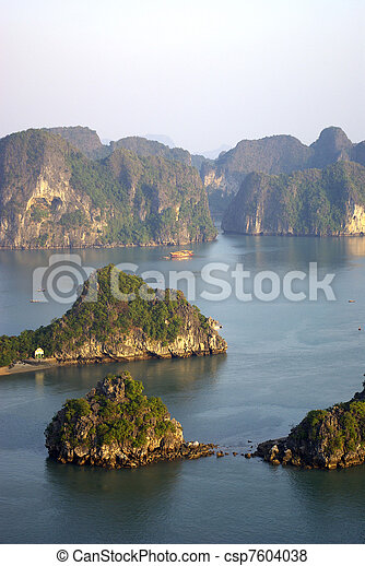 High view of Halong bay - csp7604038