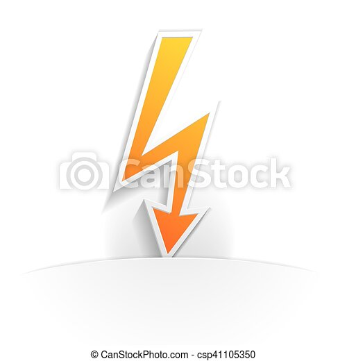 high voltage icon paper - csp41105350