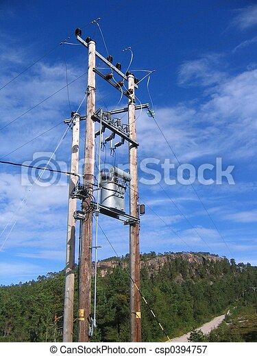 High voltage mast - csp0394757