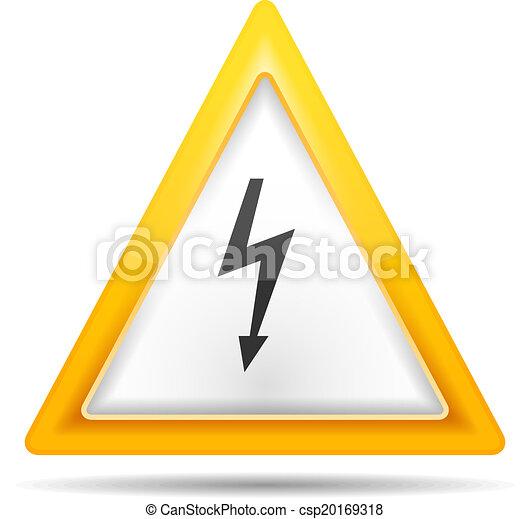 High Voltage Sign - csp20169318