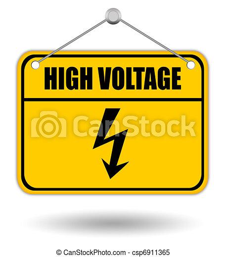 High voltage - csp6911365