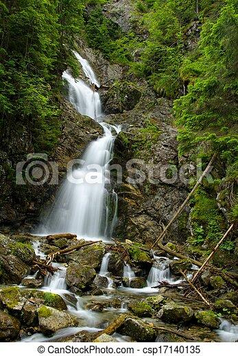 High waterfall - csp17140135