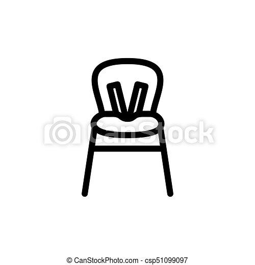 highchair, alimentazione, webstie, magro, bambini, mobile, simbolo, contorno, applications., pictograms., alto, bambino, colpo, disegno, icon.,