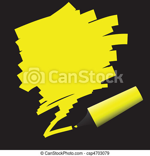 Highlighter Pen - csp4703079