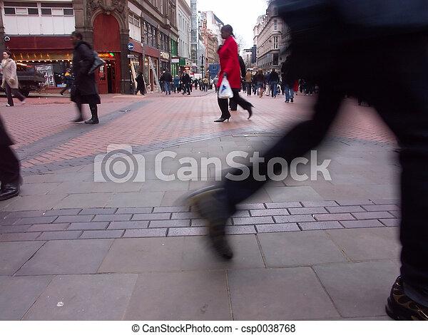 highstreet, shoppen - csp0038768