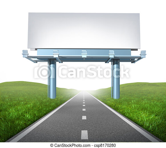 Highway billboard - csp8170280
