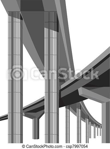 Highway bridges - csp7997054