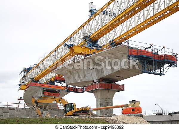 Highway construction - csp9498092