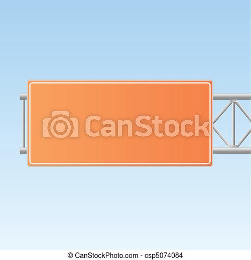 Highway Sign - csp5074084