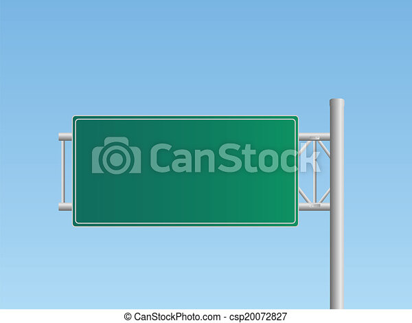 Highway Sign - csp20072827