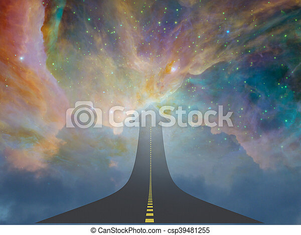 Highway to Heaven - csp39481255