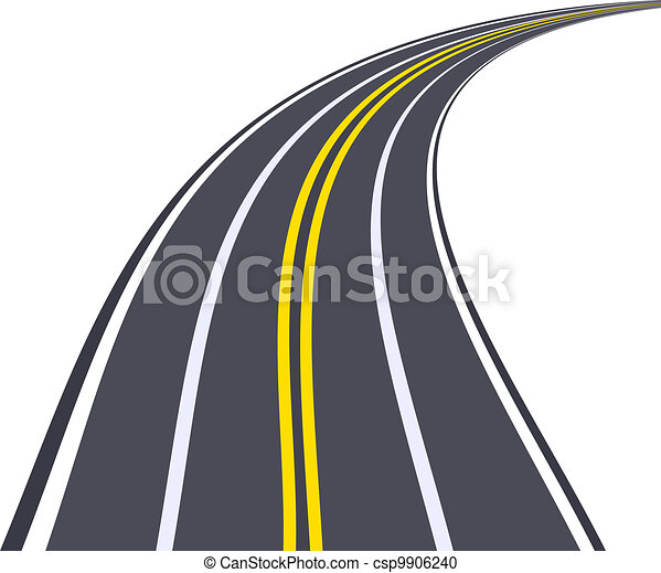 highway turned right - csp9906240