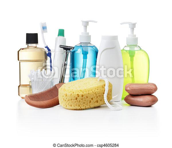 higiene pessoal, produtos - csp4605284