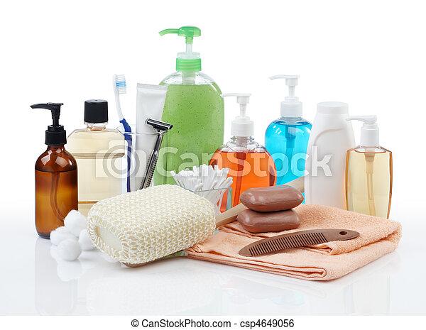 higiene pessoal, produtos - csp4649056