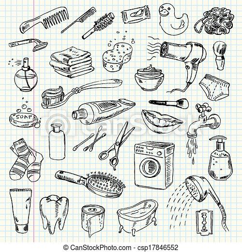 Higiene y productos de limpieza - csp17846552