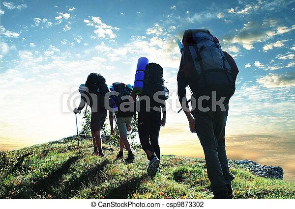 hiking - csp9873302