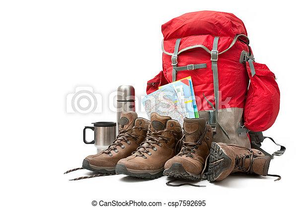 hiking equipment - csp7592695