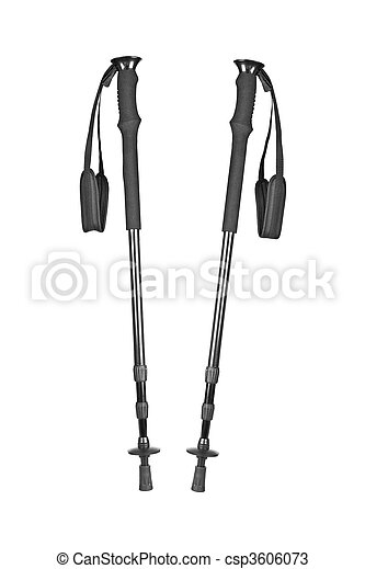 Hiking poles - csp3606073