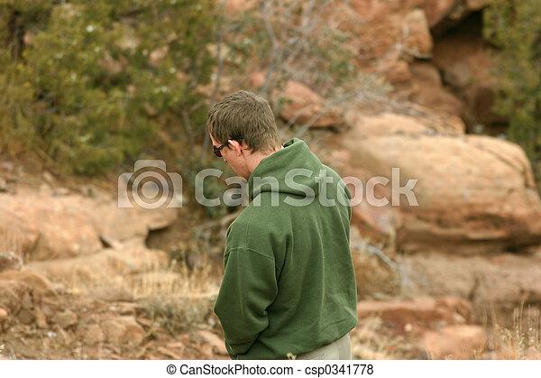 Hiking Sacred Lands - csp0341778
