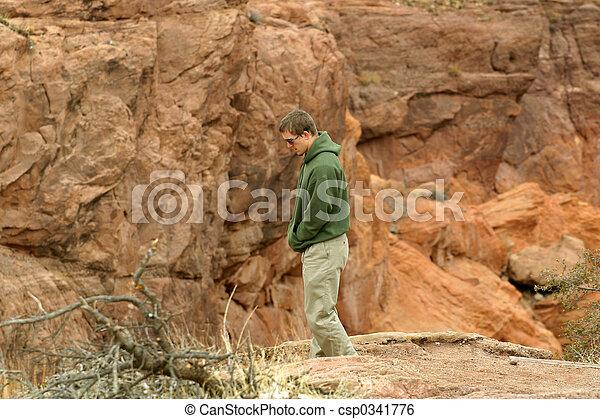 Hiking Sacred Lands - csp0341776