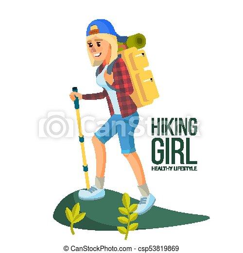 Hiking Images Cartoon