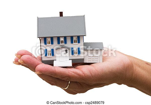 Hypothekenhilfe - csp2489079