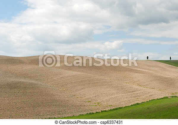 hill in Tuscany - csp6337431