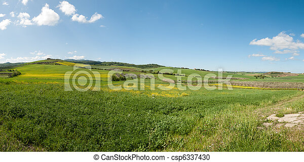 hill in Tuscany - csp6337430
