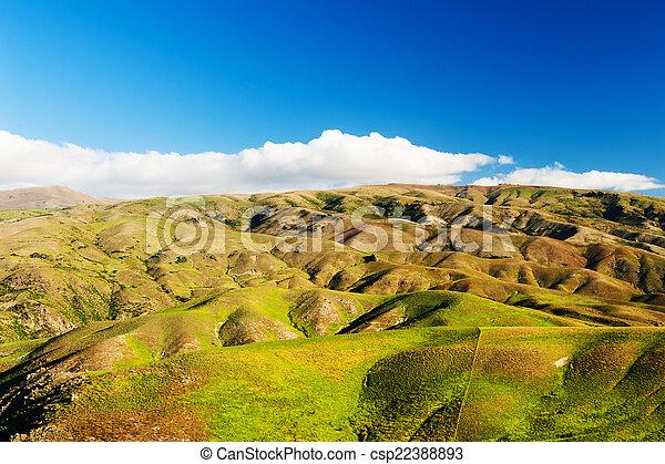 Hills of New Zealand - csp22388893