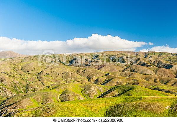 Hills of New Zealand - csp22388900