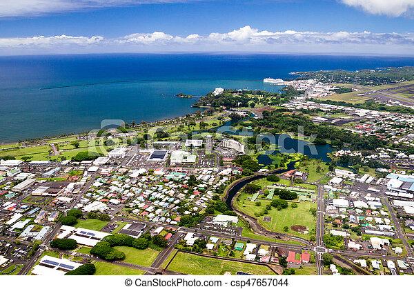 Hilo, Big Island, Hawaii - csp47657044
