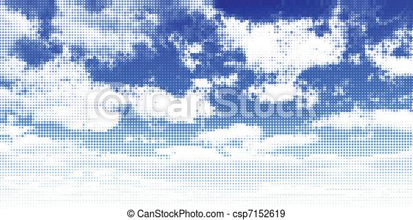himmelsgewölbe - csp7152619