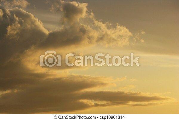 himmlisch, wolkenhimmel - csp10901314