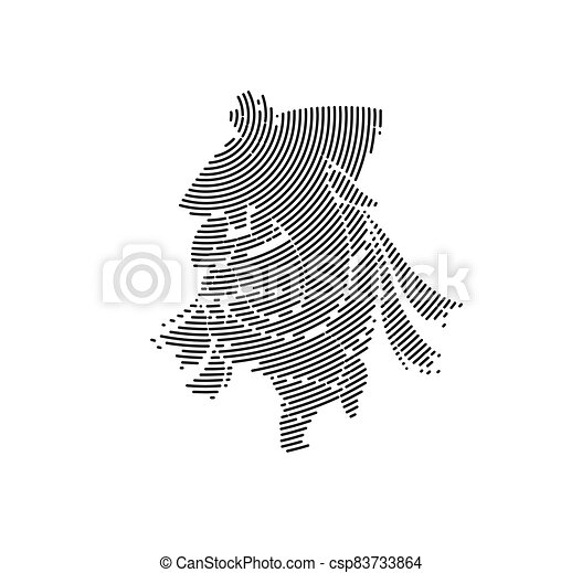 Hindu God Ganesha - elephant. Vector hand drawn illustration. - csp83733864