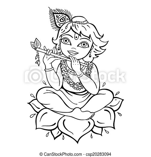 Krishna Illustrations And Clipart 1 479 Krishna Royalty Free
