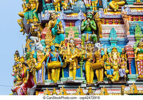 Hindu Temple Sri Lanka - csp42472919