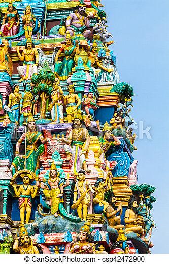 Hindu Temple Sri Lanka - csp42472900