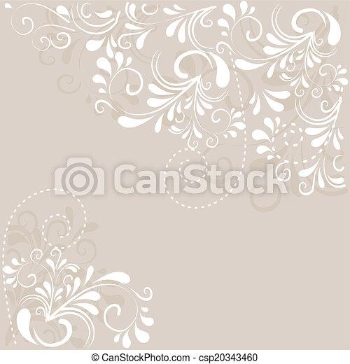 Hintergrund aus Ornamenten  - csp20343460