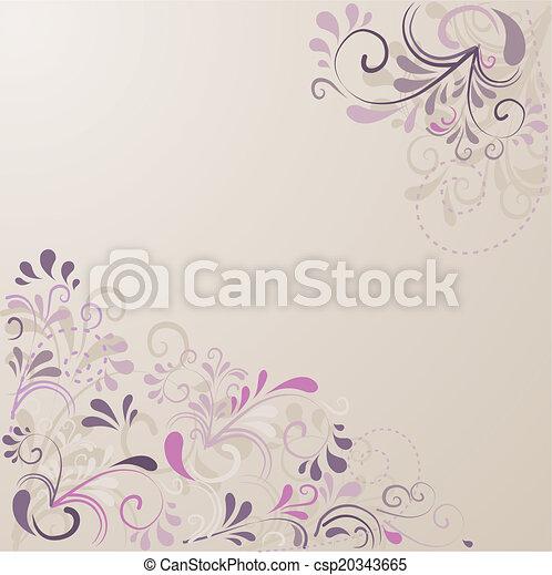 Hintergrund aus Ornamenten  - csp20343665