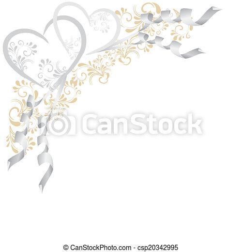 Hintergrund aus Ornamenten - csp20342995