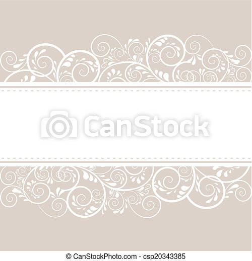 Hintergrund aus Ornamenten  - csp20343385