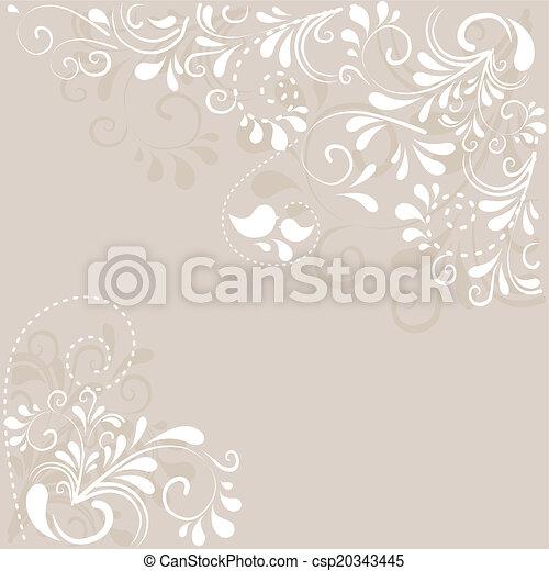 Hintergrund aus Ornamenten  - csp20343445
