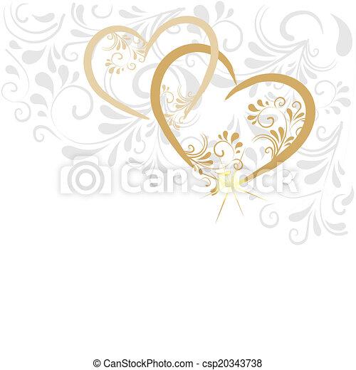 Hintergrund aus Ornamenten  - csp20343738